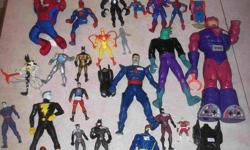 I have a variety of action figures. All for $15.