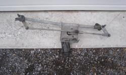Windshield wiper motor and assembly asking $15.00 Rear side windows and electric openers $10.00 each or $15.00 for the pair. good quality windshield wipers with complete arms asking $10.00 Door handle and ford emblem asking $5.00 OBO Hatchback door asking