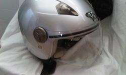 I have for sale a barely used Vega 3/4 helmet with flip up shield.  Helmet is a size xl and comes with a storage bag. Thanks for looking. Check out my other listings.