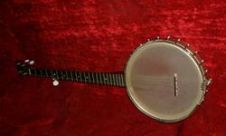 WAS $650.00 NOW $575.00!     I am selling a 1960's Vega FolkRanger that has been upgraded with the following new parts:   - Whyte Ladie tone ring - single rim rod set - amber head - 5 Star Tuner set - Vega-Style arm rest - no-knot tail piece    The banjo