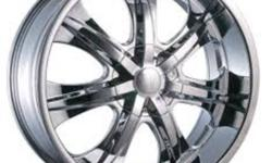 I`m selling a set of Velocity 725s universal  pattern chrome rims with mounted Lexani LX-5 245/35 ZR20 low profile tires. Set was purchased just in Spring last year.Almost like new condition..Absolutely no dents, scratches etc.They came off Pontiac Grand