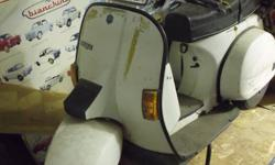 For sale 1986 Vespa PX 125 model T5 In my collection of Vespas for the last 15 years one very rare                 model Vespa PX  model T5 . The fast model Vespa Piaggio . This very rare model is for collector or museum. Engine size 125cc., Used only few
