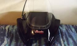 I HAVE A VETTER ROOSTER FAIRING FOR SALE IT HAS A AM/FM/CD WITH 2 SPEAKERS.  IT WILL FIT ANY BIKE WITH A ROUND HEADLIGHT.  IT WORKS GREAT. THE ONLY REASON I'AM SELLING IT IS I'AM MOVING AND I DON'T HAVE ANYWHERE TO STORE IT.  I SOLD MY BIKE SO I NEED TO