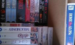 VHS Classic Movies. asking $1 each. excellent working condition.