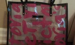 Victoria's Secret Purse/ Tote Bag   Pink & Black Bought it a few months ago but haven't used it much   $10   p/u in Markham