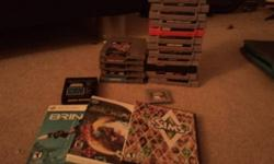 Video games for sale! Older gen and a couple newer. Need xmas money, sad to be parting with some of my collection   WILL SELL IN BULK, MAKE OFFERS :)  : Atari 2600: Space Jockey - $3   Game Boy: Kirby?s Dream Land - $12   SNES: Clayfighter - $8 Firepower