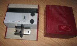 Vintage 1950's KODAK 300 PROJECTOR Model 1 Comes with case & handle Great for the collector!! can meet in west end of ottawa (kanata) or pickup in Constance Bay