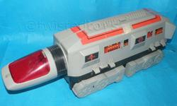 VINTAGE 1984 TONKA GOBOTS STRATEGIC COMMAND CENTER (very good condition & comes with extra decepticon!) Spaceship mode & Base mode http://www.transformers-universe.com/include.php?path=content/articles.php&contentid=2362