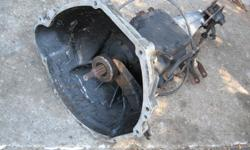 """I HAVE A 3 SPEED MANUAL TRANSMISSION TO FIT A 1965 OR 1966 MUSTANG , FALCON OR COMET. THE LINKAGE IS COMPLETE. IT IS A TOP LOAD STYLE FOR FLOOR SHIFT. THE CLUTCH DISC IS 10"""" WITH 10 SPLINES . $150 *This item will be removed when sold"""