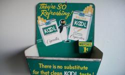 ADVERTISING KOOL  MATCH HOLDER,,1 CENT