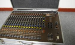 Traynor 640....6 channel 400 watts.....works great...needs contact spray....$150   Vintage Soundtracs 16 channel mixer/amp....made in england....must see to appreciate.......if you looking to start a recording/sound studio this is the one........needs