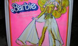 """Vintage Barbie doll case measures 12 1/2"""" L x 10 1/4"""" W x 2 3/8"""" D.  Asking $10 firm."""