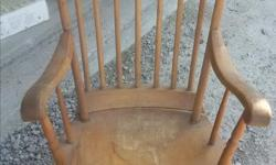 This chair has travelled with me for 45 years and needs some love. It is in great shape overall however due to dry conditions a few of the wood connections have separated - if you have worked with vintage solid wood before you know this is normal, so it