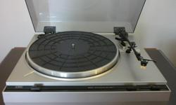 """Great 80's CEC 8001A semi automatic turntable in good condition. Comes with a very good quality SHURE M-91ED cartridge requiring a new stylus available at """"The Record Centre"""" for about $20. Sold as is priced acordingly at $50 email for details"""