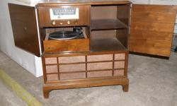 Compact, radio, record player from 60 - 70.