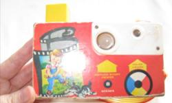 Vintage Fisher Price Camera Push the button and the flash spins around