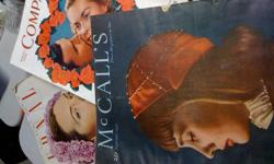 Set of seven vintage magazines. A little worn but still in good condition. McCalls: September 1946 Chatelaine: September 1946, February 1947, May 1947, April 1948. Ladies Home Journal February 1947 Woman's Home Companion February 1947