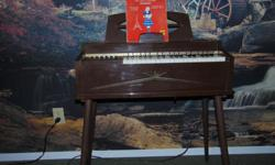 VINTAGE MAGNUS ELECTRIC CHORD ORGAN--MODEL 481 ALL KEYS ARE IN GOOD WORKING CONDITION COME FROM A NON-SMOKING HOME IN VERY GOOD CONDITION LEGS CAN BE REMOVED FOR TRANSPORTATION