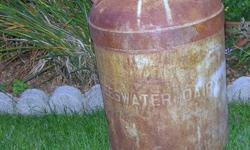 (1) Vintage milk can - Teeswater Dairy No lid for this can, has surface rust only   GREAT SHAPE