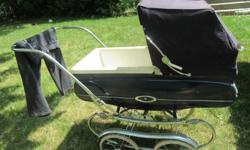 This Vintage Stroller is a real gem. I needs a little Love to restore it back to it's former glory. $100 firm...please mind the hang pants! :)