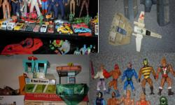 vintage toys  for sale or trade,check out our other vintage toy ads on kijiji. email me and i'll send you a facebook link to more toy photo's. and much more for sale or trade, if you collect vintage toys, we have what your looking for, even if your just