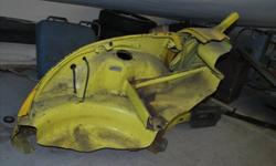 fits 1973-79 Volkswagen Super Beetle, passenger front quarter section Convertible and sedan rust free part cut from a car