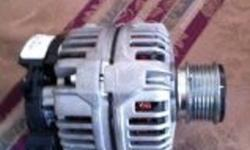 for sale is a 90 amp vw alternator we bought it new on Boxing day from Brampton only to find out that the battery was the problem.   We spent over $200  and are looking for $150. Will fit many different VW vehicles.
