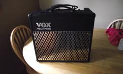 vox 30watt amp valve tronix complete affects &numerous amp sounds . like new condition