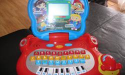 Vtech LITTLE EINSTEINS blast-off laptop Mouse is a little rocket Good for 6-12m Learn letters / music / numbers Has a little piano board Has 18 different activities Really cute!!! can meet in west end of Ottawa (Kanata) or pickup in Constance Bay