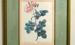 """If you see this add it means """"STILL AVAILABLE"""". I WILL NOT RESPOND TO """"ARE THESE STILL AVAILABLE?"""" Contact me only to make appointment. These are two ( the same prints) gorgeous botanical prints framed professionally at Michaels. We are moving and"""