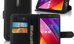 Wallet Leather Flip Stand Case for Asus Zenfone 2 Laser ZE500 -Wallet Design allows you put credit card bank card or cash inside -Stand allows to view the contents on the table -Protect your from dust, scratching and shock. - Protect your valuable