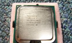 will trade an Intel socket 775 641 3.2/800/2mb Hyper Threading 64 bit CPU and  an Intel 631 3.0/800/2Mb 64 Bit For an AMD 3700+ or 3400+ Socket 754 CPU Look at 2nd & 3rd Pix 4th Pic shows 754 backside Or will pay $10 for one John 519-945-4688