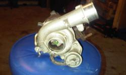 I have a K04 turbo made by Warner-Hitachi for sale. The turbo has no shaft place, and is really good shape. A couple of studs that hold it to the exhaust have broke, but it is very easy to put in a new stud. Taken from a new Mazdaspeed 3, but from what I