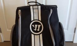 Warrior hockey bag, still in excellent shape. $60 OBO.