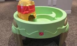 Children's water table. In like new condition. Kept inside so there's no sun fading. Located in Pilot Butte