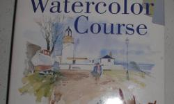 Several art books available:  The ultimate waterclour course, watercolor, watercolour workbook, watercolor school, complete drawing & sketching course, caligraphy school, and landscape drawing and painting. All books are hardcover, Condition is new. $5.00