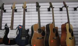 Big Ed's Game & Jewellery Exchange is now open!  However, we do sell more than just games and jewellery.  We have a large selection of quality new and used instruments and accessories.  All items come with a 30-day warranty. All electric guitars are