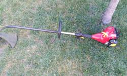 Homelite weed trimmer like brand new has quick head load. Price is firm. Please text if possible or call before 2pm weekdays. 6137121800