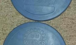 Weider Brand. Two 10 kg weights.