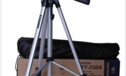 ON CLEARANCE - $15.00 Each HST Included. Weight (g): 1000 Extended Length (mm): 1350 Type: Mini Tripod / Lightweight Brand Name: Weifeng Folded Length (mm): 480 Material: Aluminum Use: Digital Camera Model Number: WT-330A HST is Always Included in Our