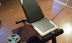 I have a weight bench and weights for sale please email for nore info