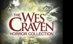 Wes Craven Horror Collection DVD People Under the Stairs Shocker The Serpent and the Rainbow