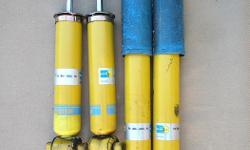 """Bilstein shocks, used, but lifetime warrantee. """"There is simply no better shock in its class for a 2WD than a Bilstein. They are the original mono-tube shock absorber used as original equipment on many of the world's top-brand automobiles. For years now,"""
