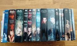 Selling my entire collection of Joss Whedon DVDs - 13 seasons and 3 movies for only $50 or best offer. Buffy (7 seasons + 1 movie), Angel (5 seasons), Firefly (1 season + 1 movie), Dr. Horrible (movie). All in very good to excellent condition - some are