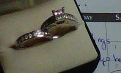 I have a beautiful engagement and wedding band set, retailed at over 2000.00 it was purchased 5 years ago, the engagement ring has been worn for 3 years and wedding band never worn. This set was purchased at Peoples jewelers and was very well taken care