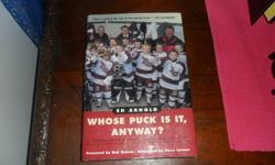 This book is in great shape, except for 1 page had been folded for awhile but still readable.  A great book for the Hockey fan of Peterborough Pete's. PRICE IS FIRM. Thank-You. Not signed. Peterborough is the area.