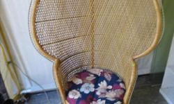 """Excellent Condition 54"""" high x 36"""" wide, seat 19"""" across"""