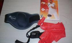 Wii Active set - game, resistance band and leg strap - $15.00 Team Elimination Games - $5.00 Dance Workout - $5.00 Will sell individually or you can have them all for $20.00