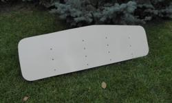 Like new. 5' wide; 18'' deep. Universal fit.