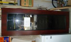 I am selling a wine cabinet, there is nothing wrong with it. It's never been used, and it's in grate shape.